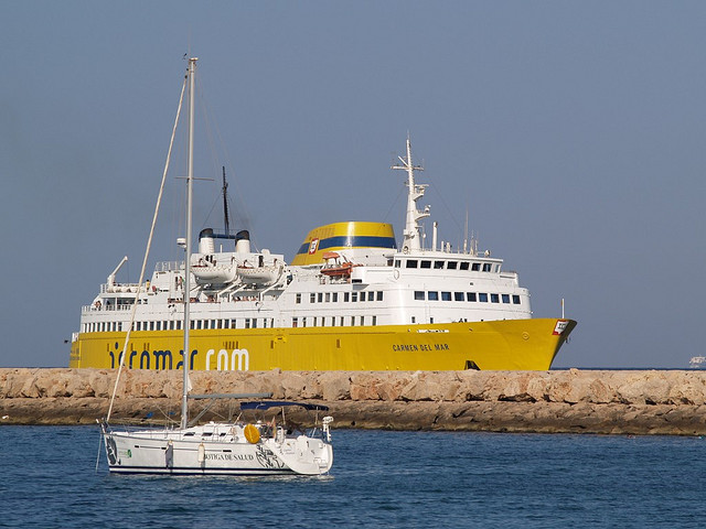 Iscomar la naviera que navega por las baleares clickferry - Transporte islas baleares ...