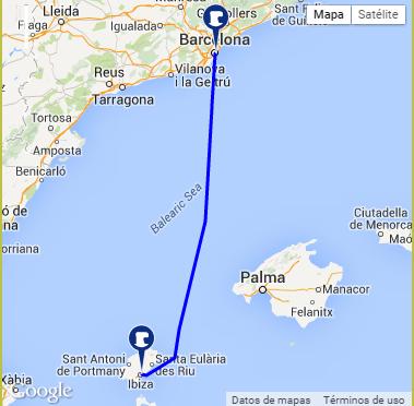 Ferry Barcelona Ibiza