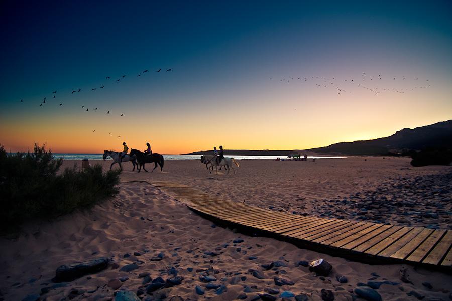 Playa de Bolonia, en Tarifa