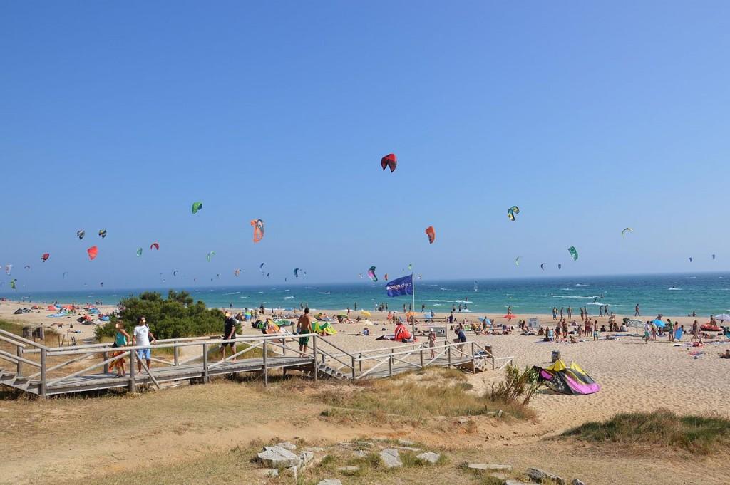 Playa de Valdevaqueros, en Tarifa