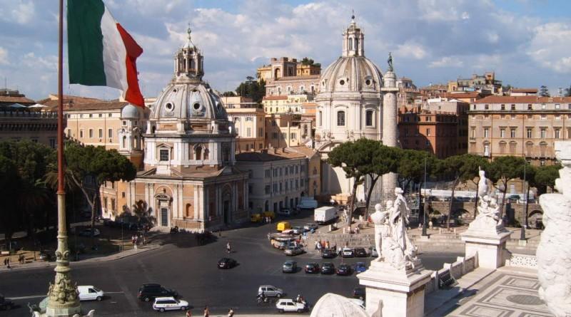 Operación U.N.C.L.E. Piazza Venezia