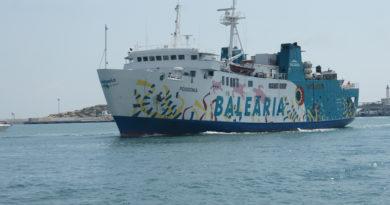Baleària, mantendrá operativo al Formentera Direct entre Ibiza y Formentera, este Invierno
