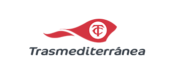 Logo's image of the shipping company Trasmediterranea