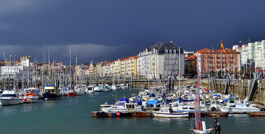 Resource image of the destination port Santander for the ferry route Plymouth - Santander