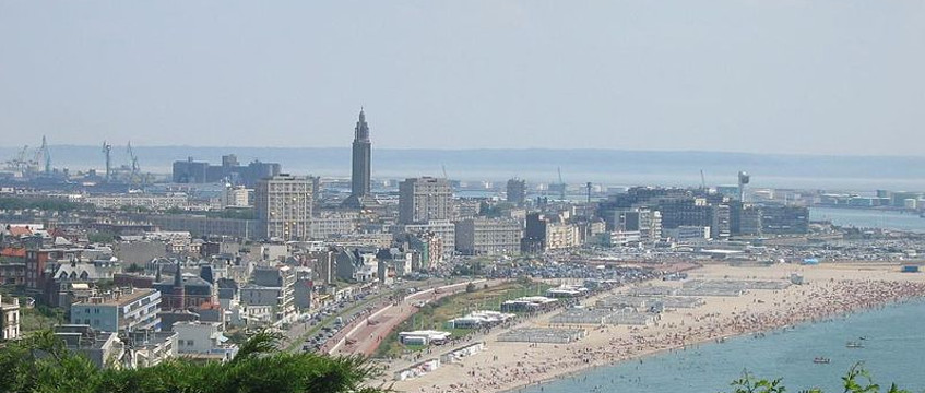 Resource image of the destination port Le Havre for the ferry route Portsmouth - Le Havre