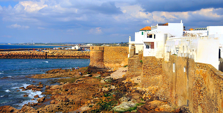 Resource image of the destination port Tangier Ville for the ferry route Tarifa - Tangier Ville