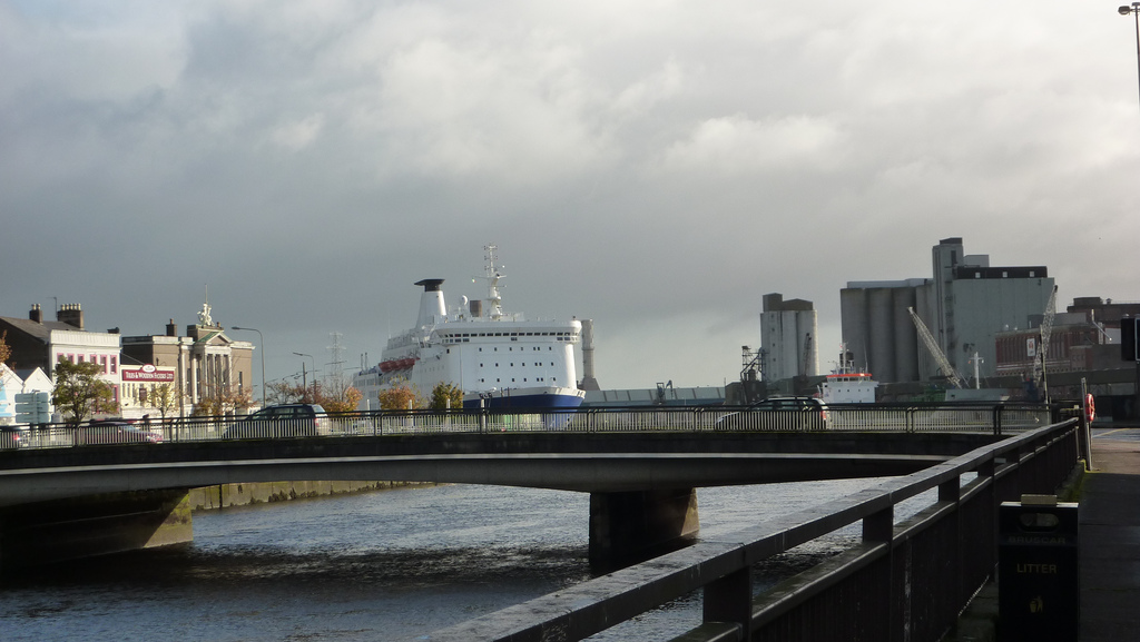 Image of the ferry terminal in Cork