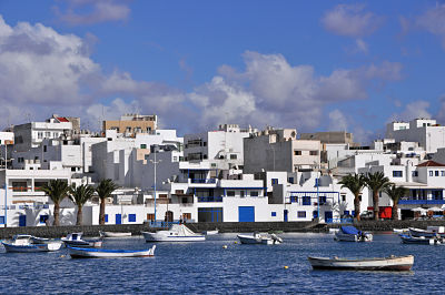 Image of the ferry terminal in Lanzarote (Arrecife)