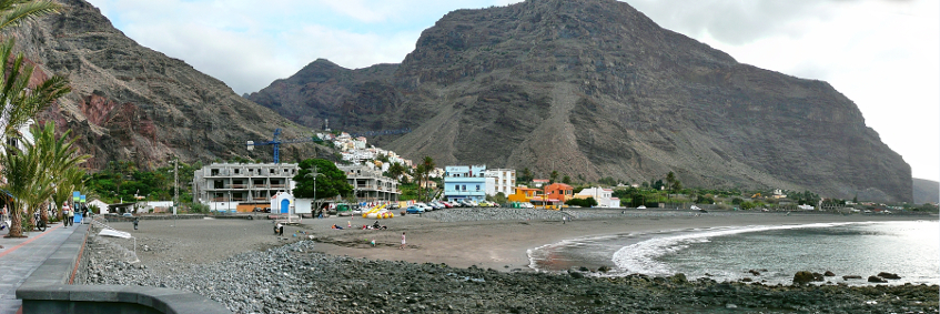 Resource image of the destination port La Gomera (Valle Gran Rey) for the ferry route La Gomera (San Sebastian) - La Gomera (Valle Gran Rey)