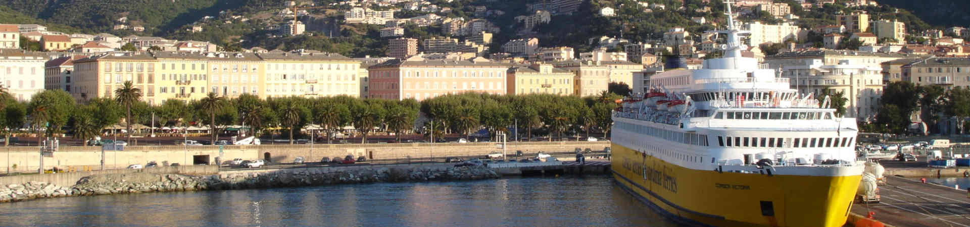 Resource image of the destination port Bastia for the ferry route Genova - Bastia