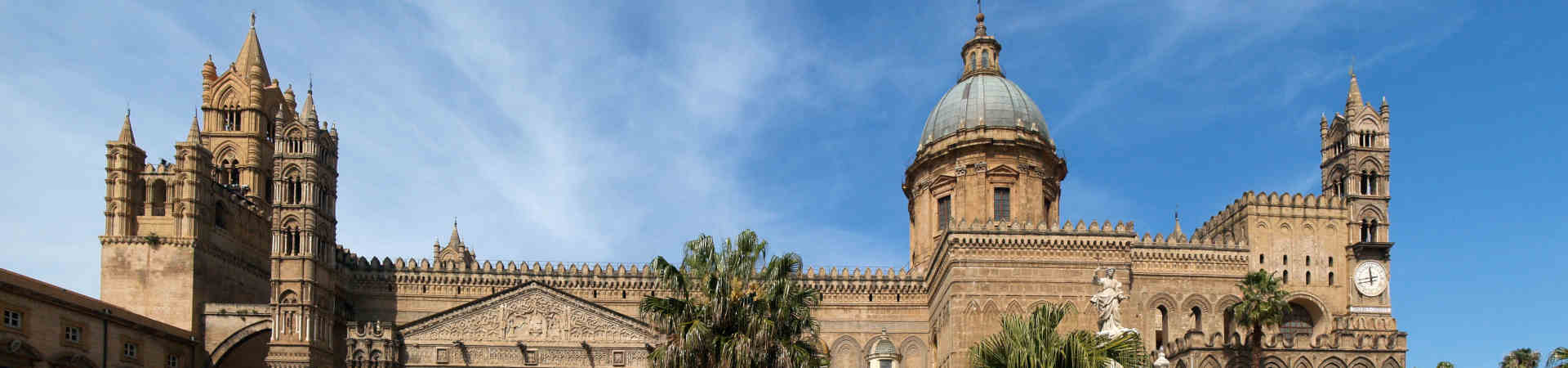 Resource image of the destination port Palermo for the ferry route Naples - Palermo