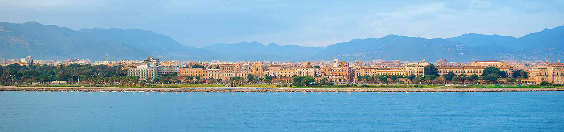 Resource image of the destination port Palermo for the ferry route Civitavecchia - Palermo