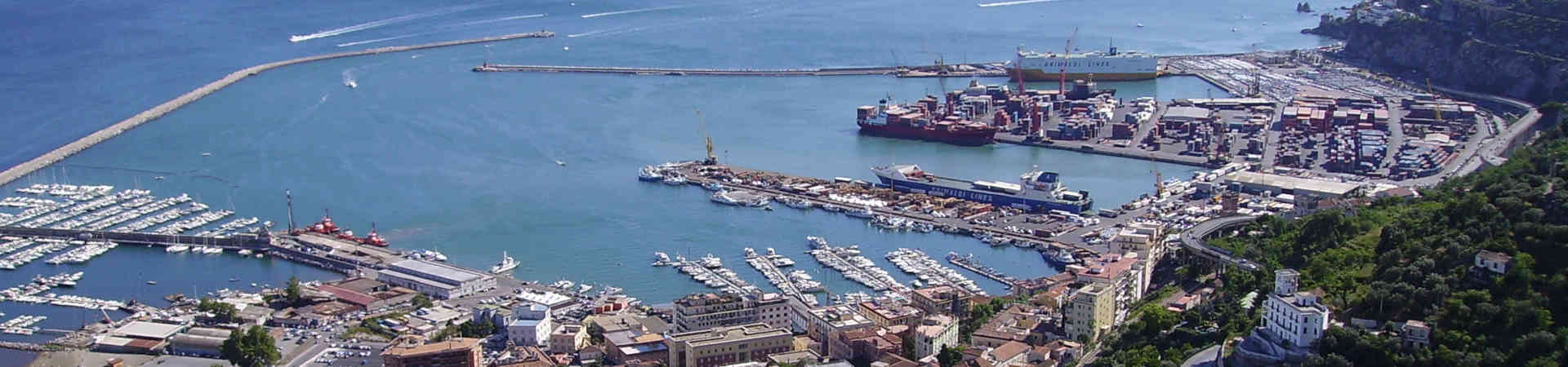Resource image of the destination port Salerno for the ferry route Tunis - Salerno
