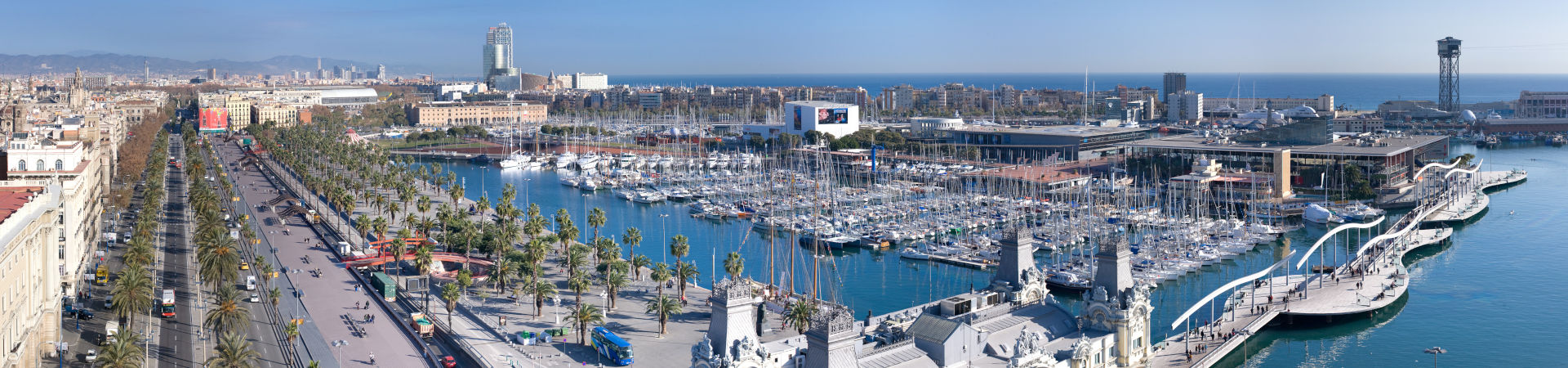 Resource image of the destination port Barcelona for the ferry route Formentera - Barcelona