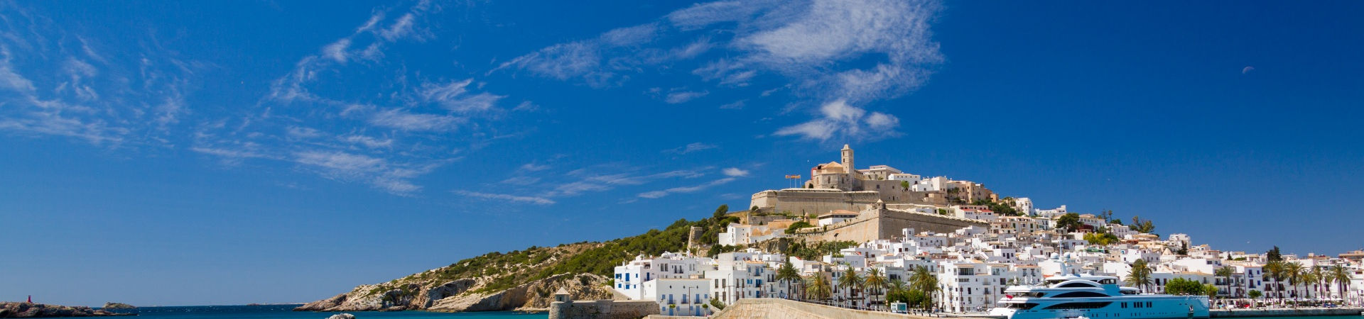 Resource image of the destination port Ibiza for the ferry route Gandia - Ibiza
