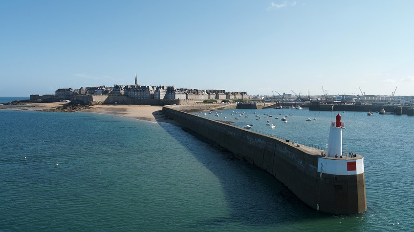 Resource image of the destination port Saint-Malo for the ferry route Portsmouth - Saint-Malo