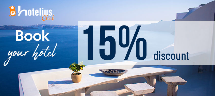 Image of Hotel Discount: 15% direct. Only with Clickferry